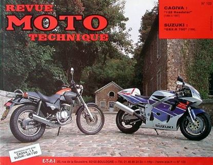 "Picture of CAGIVA 125 ROADSTER (1994/97) N° 103 - SERIE ""REVUE MOTO TECHNIQUE"""