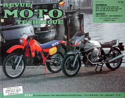 "Picture of GUZZI 850 LM 1000 CAL. N° 53 - SERIE ""REVUE MOTO TECHNIQUE"""