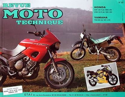 "Picture of HONDA NSR 125 89 - 92 CRM 125 1990-92 N° 85 - SERIE ""REVUE MOTO TECHNIQUE"""