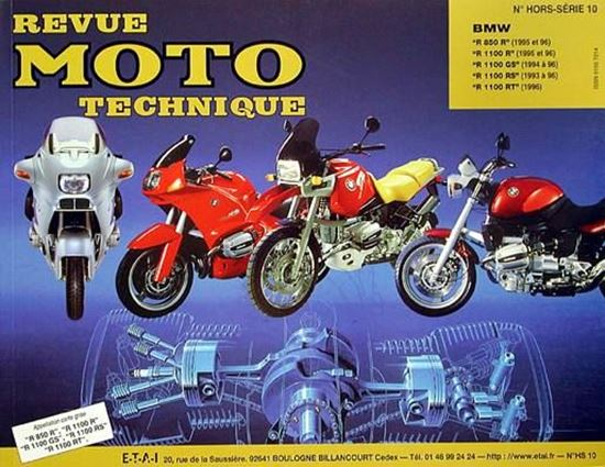 "Picture of BMW R 850 1100 GS RS RT (1995/96) - SERIE ""REVUE MOTO TECHNIQUE"" N° HORS SERIE 10"