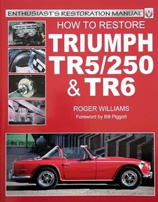 Immagine di HOW TO RESTORE TRIUMPH TR5/250 & TR6