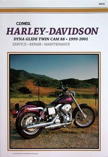 Picture of HARLEY-DAVIDSON DYNA GLIDE TWIN CAM 88 1999-2001 M425 - CLYMER REPAIR MANUALS
