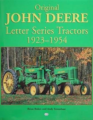 Picture of ORIGINAL JOHN DEERE LETTER SERIES TRACTORS 1923/1954