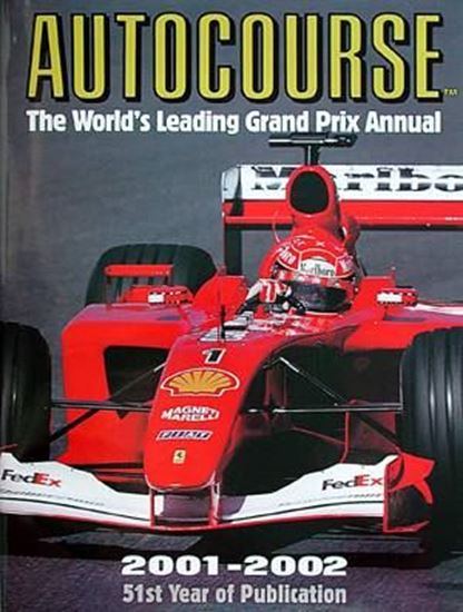 Picture of AUTOCOURSE 2001/2002: 51ST YEAR OF PUBLICATION