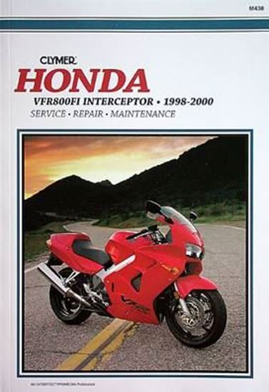 Immagine di HONDA VFR800FI INTERCEPTOR 1998-2000 M438 - CLYMER REPAIR MANUALS