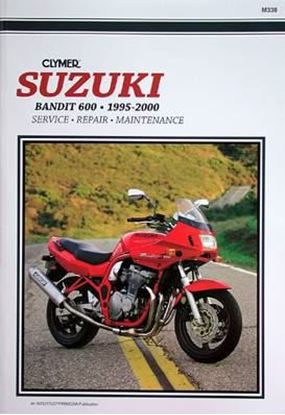 Picture of SUZUKI BANDIT 600 1995-2000 M338 - CLYMER REPAIR MANUALS