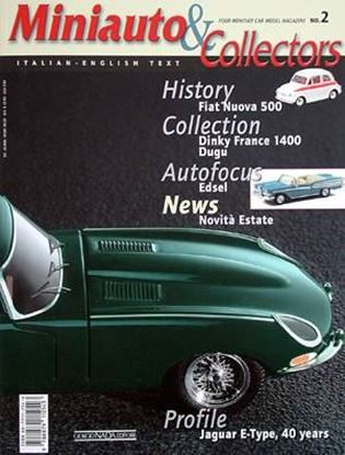 Immagine di MINIAUTO & COLLECTORS 02/2001: SPECIALE JAGUAR E-TYPE