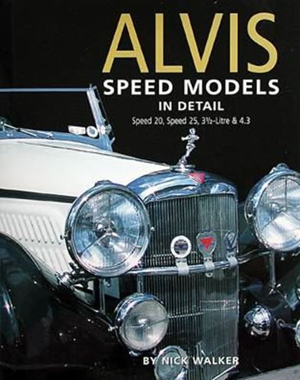 Immagine di ALVIS SPEED MODELS IN DETAIL