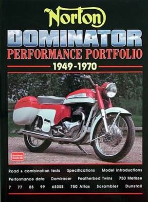 Immagine di NORTON DOMINATOR PERFORMANCE PORTFOLIO 1949-1970