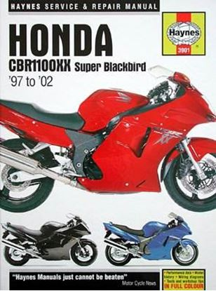 Immagine di HONDA CBR1100XX SUPER BLACKBIRD 1997-2002 N. 3901 OWNERS WORKSHOP MANUAL