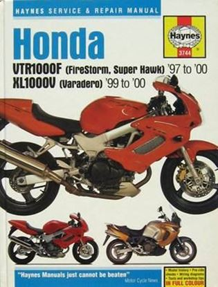 Immagine di HONDA VTR1000F 1997-2000 HONDA XL1000V 1999-2000 N. 3744 OWNERS WORKSHOP MANUALS