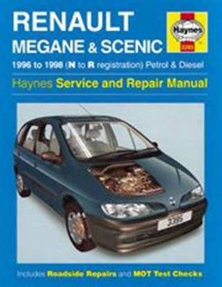 Picture of RENAULT MEGANE & SCENIC PETROL & DIESEL 1996-1998 N. 3395 OWNERS WORKSHOP MANUALS