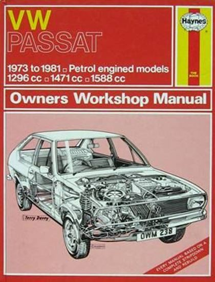 Picture of VW PASSAT 1973 to 1981 PETROL N. 0238 OWNERS WORKSHOP MANUALS