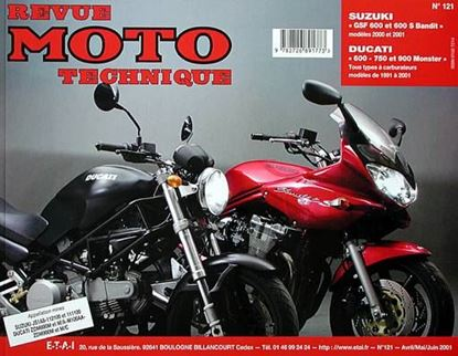 "Picture of SUZUKI GSF 600 ET 600 S BANDIT (2000/2001) N° 121 - SERIE ""REVUE MOTO TECHNIQUE"""""