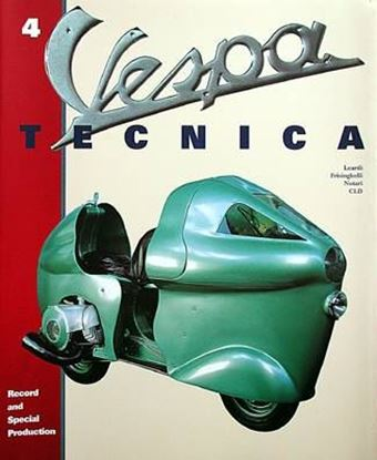 Immagine di VESPA TECNICA 4 RECORD AND SPECIAL PRODUCTION Ed. Italiana/Italian Ed.