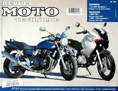 "Picture of SUZUKI GSX 750 (1998-2002) & GSW 1 200 INAZUMA (1999-2001) SERIE ""REVUE MOTO TECHNIQUE"" N° 125"