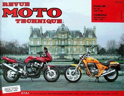 "Picture of YAMAHA FZS 600 FAZER (98/99) - Serie ""REVUE MOTO TECHNIQUE"" N° 113"