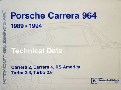 Picture of PORSCHE CARRERA 964 1989-1994 TECHNICAL DATA WITHOUT GUESSWORK