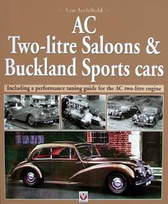 Immagine di AC TWO-LITRE SALOONS & BUCKLAND SPORTS CARS