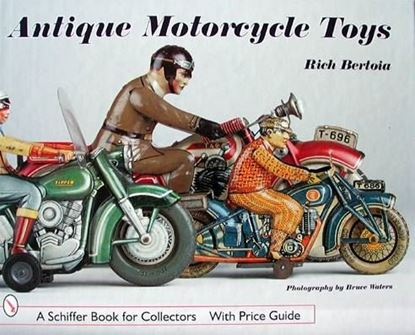 Picture of ANTIQUE MOTORCYCLE TOYS
