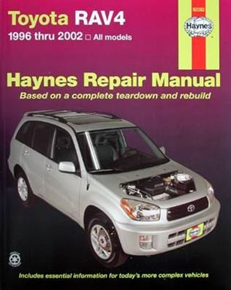 Picture of TOYOTA RAV4 1996 THRU 2002 ALL MODELS HAYNES REPAIR MANUAL N. 92082