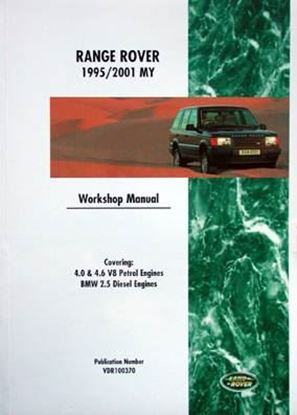 Immagine di RANGE ROVER 1995/2001 MY WORKSHOP MANUAL