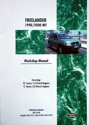 Picture of LAND ROVER FREELANDER 1998/2000 MY WORKSHOP MANUAL