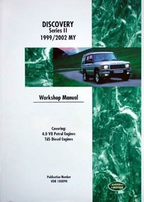 Immagine di LAND ROVER DISCOVERY SERIES II 1999/2002 MY WORKSHOP MANUAL