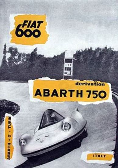 Immagine di ABARTH & C. TURIN FIAT 600 DERIVATION ABARTH 750