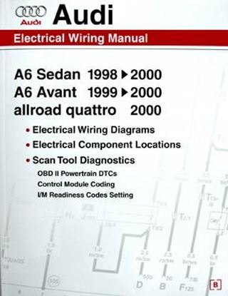 Immagine di AUDI A6 ELECTRICAL WIRING MANUAL