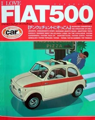 Picture of I LOVE FIAT 500