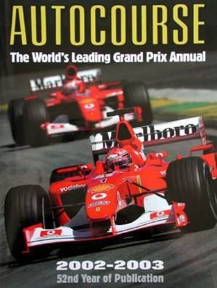 Picture of AUTOCOURSE 2002/2003: THE WORLD'S LEADING GRAND PRIX ANNUAL