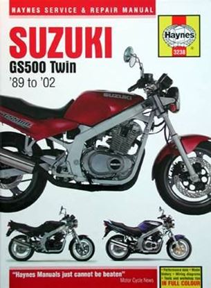 Immagine di SUZUKI GS500 TWIN '89 to '02 SERVICE & REPAIR MANUAL N. 3238