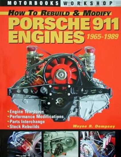 Picture of HOW TO REBUILD & MODIFY PORSCHE 911 ENGINES 1965-1989