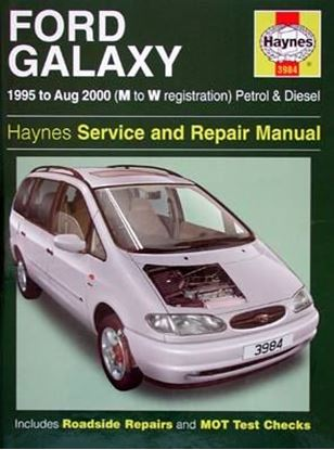 Picture of FORD GALAXY 1995 to Aug 2000 (M to W registration) PETROL & DIESEL SERVICE & REPAIR MANUAL N. 3984