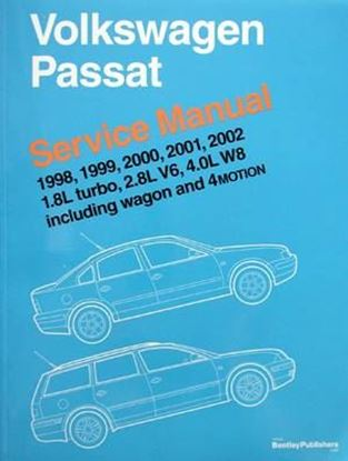 Picture of VOLKSWAGEN PASSAT SERVICE MANUAL 1998-2002