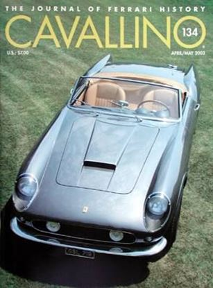Immagine di CAVALLINO THE JOURNAL OF FERRARI HISTORY N° 134 – APRIL/MAY 2003