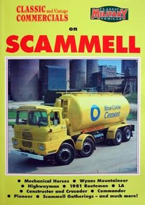 Picture of CLASSIC AND VINTAGE COMMERCIALS - CLASSIC MILITARY VEHICLE ON SCAMMELL