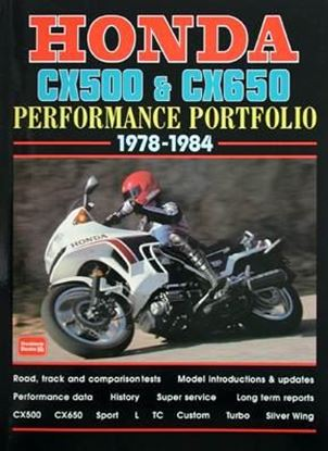 Picture of HONDA CX500 & CX650 PERFORMANCE PORTFOLIO 1978-1984