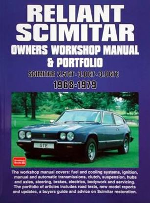 Picture of RELIANT SCIMITAR OWNERS WORKSHOP MANUAL & PORTFOLIO 1968-1979