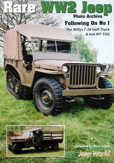 Picture of RARE WW2 JEEP PHOTO ARCHIVE Ð FOLLOWING ON No.1