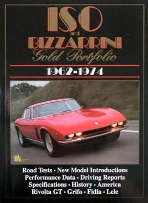 Picture of ISO AND BIZZARRINI GOLD PORTFOLIO 1962-1974