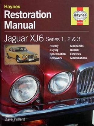 Immagine di JAGUAR XJ6 SERIES 1, 2 & 3 RESTORATION MANUAL