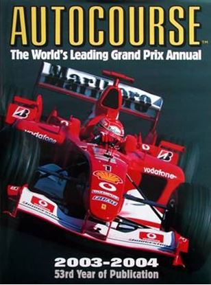 Picture of AUTOCOURSE 2003/2004 THE WORLD'S LEADING GRAND PRIX ANNUAL