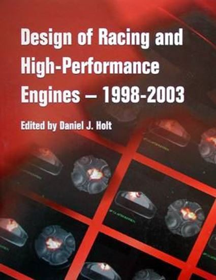 Picture of DESIGN OF RACING AND HIGH-PERFORMANCE ENGINES 1998-2003