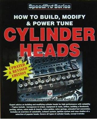 Immagine di HOW TO BUILD, MODIFY & POWER TUNE CYLINDER HEADS