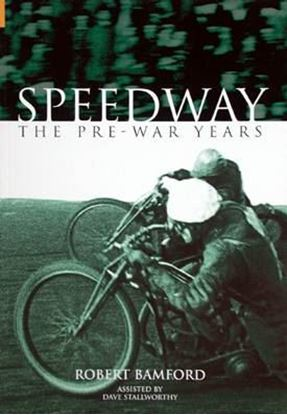 Picture of SPEEDWAY THE PRE-WAR YEARS
