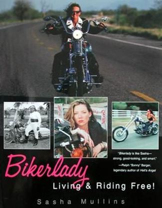 Picture of BIKERLADY LIVING & RIDING FREE