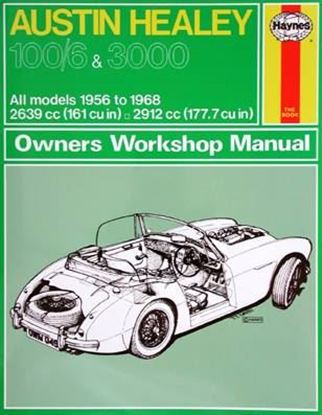 Picture of AUSTIN HEALEY 100/6 & 3000 All models 1956 to 1968 OWNERS WORKSHOP MANUAL N. 049