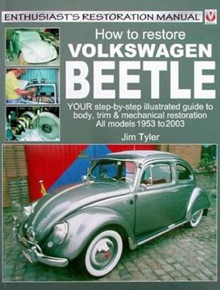 Picture of HOW TO RESTORE VOLKSWAGEN BEETLE RISTAMPA 2016